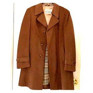 Jackets & Blazers - 1960's camel half vegan suede coat by Stratojac